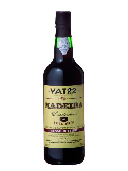 Madeira VAT 22, Island Bottled